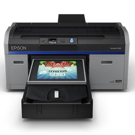 Текстильный принтер Epson SureColor F2100 уже в марте 2018 года