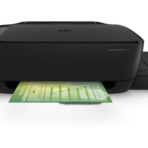 Компания HP выпустила новые МФУ Ink Tank 315 и Wireless 415