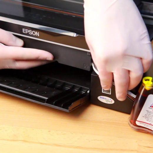 Обнуляем чипы на принтерах Epson с СНПЧ