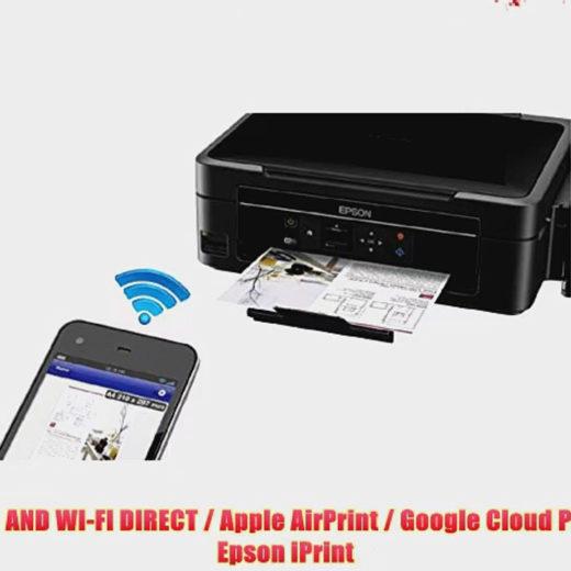 Настраиваем Wi-Fi на принтерах Epson